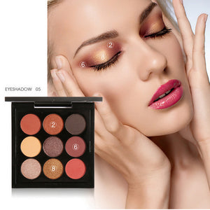 Focallure 9 Colors Earthtone Eye Shadow