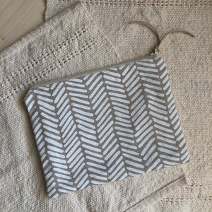 Two Directions Medium Zipper Pouch