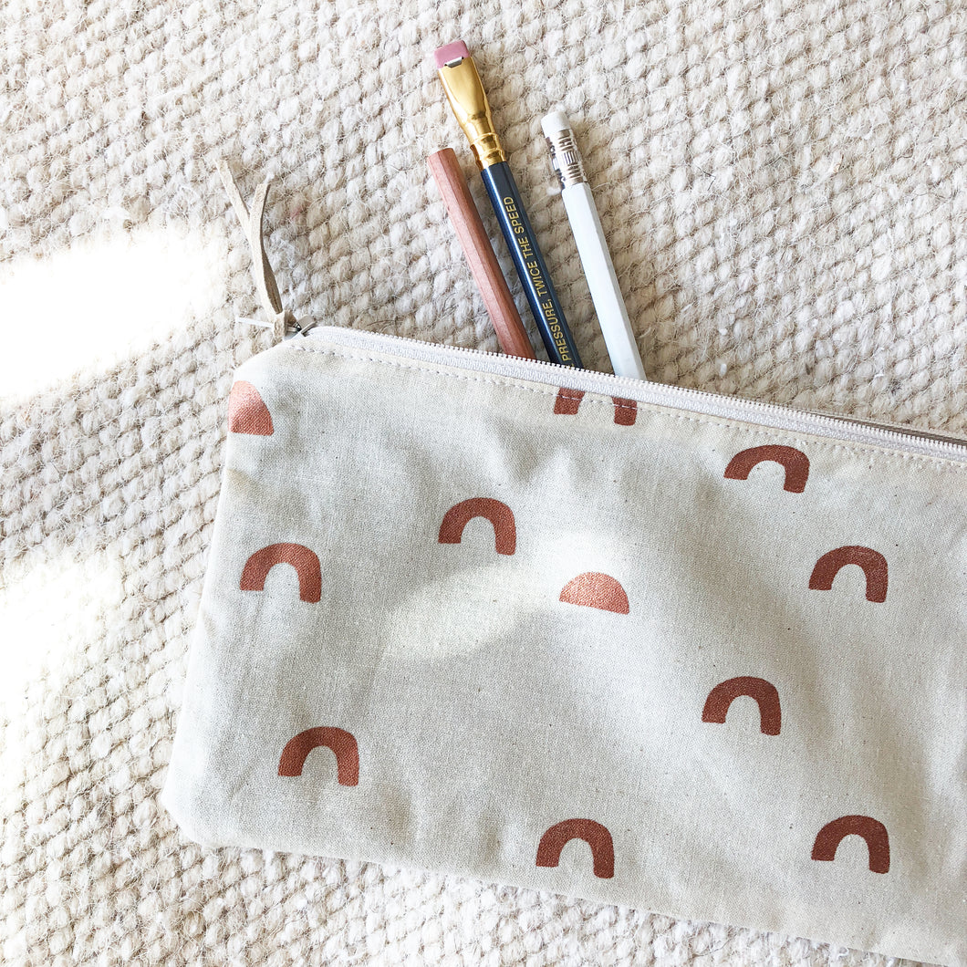 Copper Cups Pencil Pouch