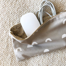 White Cups Pencil Pouch