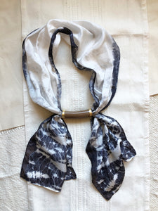 Silk + Ceramic Necklace III