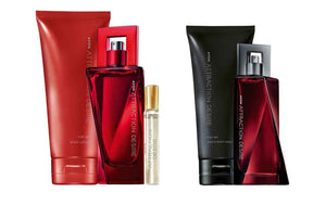 Avon Cosmetics Attraction Desire for Her Perfume Set