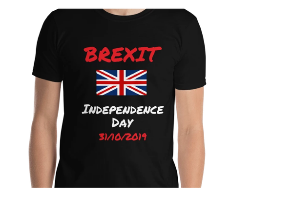 Brexit Independence Day Short-Sleeve Unisex T-Shirt #Brexit