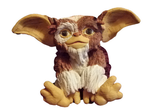 Baby Gizmo Figure 3D Printed Hand Painted #Gizmo