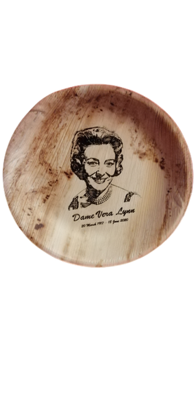Dame Vera Lynn Tribute Palm Leaf Bowl