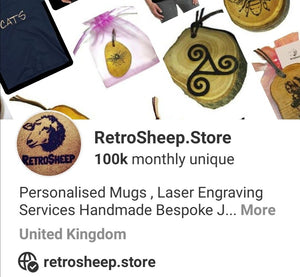Ive Just hit 100k Monthly views YIPPY !!!!!   Check out and Follow my #Pinterest Feed #Retrosheep  https://www.pinterest.co.uk/retrosheepcom/pins/