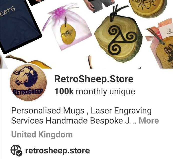 Ive Just hit 100k Monthly views on Pinterest  YIPPY !!!!!  #Pinterest #retrosheep