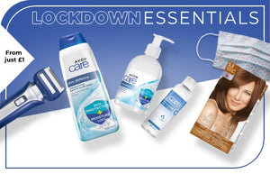Avon Cosmetics Lockdown Pamper Essentials Special Offers #Avon