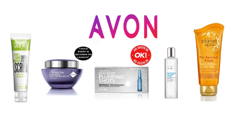 Avon Cosmetics Skin Care Products by Retrosheep