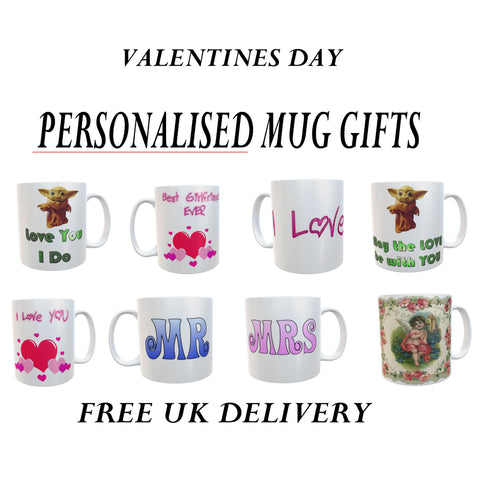 I LOVE YOU Mug BEST GIRLFRIEND WIFE Valentines Gift Tea Coffee #ValentinesDay