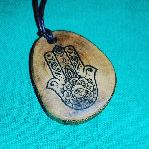 Hamsa Hand on Folksy by Retrosheep