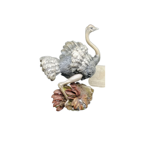MBUNI - OSTRICH From the Earth Figurine Ann Richmond  #FromtheEarth