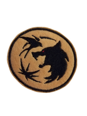 The Witcher Iron on Patch by Retrosheep.com