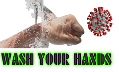 WASH YOUR HANDS BEAT COVID 19 BY RETROSHEEP
