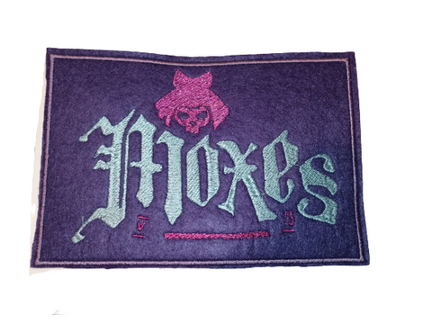Cyberpunk Moxes Gang Patch #Cyberpunk by Retrosheep.com