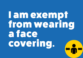 Coronavirus (COVID‑19) Covid Mask Exemption Rules on Face Coverings