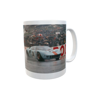 Ford GT40 Mug Le Mans Vintage Classic Car Tea Coffee Mugs #FordGT40