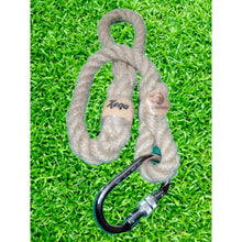 Natural Dog Lead for Large / Extra Large Dogs Handmade in Wales by Retrosheep