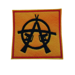 Anarchy Patch Iron On Patches #Anarchy