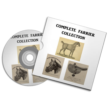 THE FARRIER PROFESSIONAL collection horse doctor vet and Saddle maker #Horse #Farrier