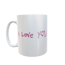 I Love You Mug Valentine's Gift Tea Coffee #Valentines