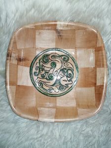 Celtic Dogs Serving Bowl Home Table Decor Basket Bowl #Celtic