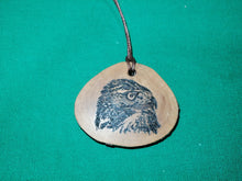 American Red Tailed Hawk Necklace
