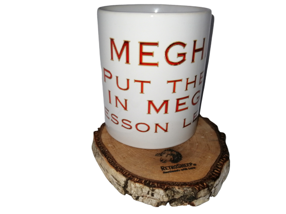 MEGHAN put the ME in MEGXIT Lesson Learned Mug Joke Novelty Gift Tea Coffee Mugs #Megxit