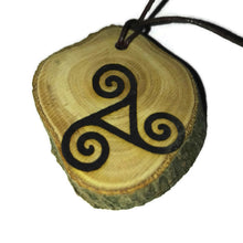 Triskelion Triskele Triple Spiral Bespoke Handmade Choker Necklace Pendant Earrings Keyring scented Charm #Celtic