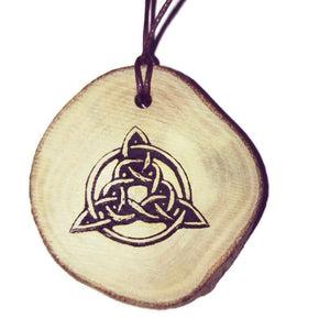 Triquetra Trinity Knot Celtic Bespoke Handmade Choker Necklace Pendant Earrings Keyring scented Charm #Celtic