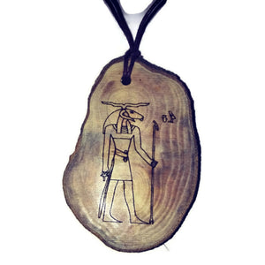 Khnum God of the source of the Nile River Egyptian Deities God Necklace Pendant #Khnum