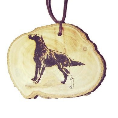 Irish Red Setter Dog choker Pendant Handmade Wooden Charm Natural Personalised Necklace Earrings Keyring Charms #Handmade