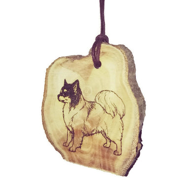Chihuahua Dog choker Pendant Handmade Wooden Charm Natural Personalised Necklace Earrings Keyring Charms #Handmade
