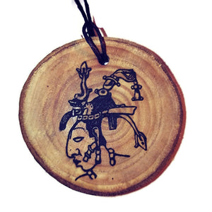 The Macaw Nazca Lines Inspired Handmade Necklace Wooden Eco Friendly Wood Rustic Jewellery Gift Charms #NazcaLines