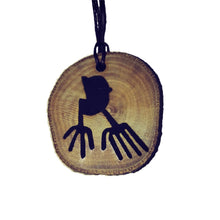 The Astronaut Nazca Lines Inspired Handmade Necklace Wooden Eco Friendly Wood Rustic Jewellery Gift Charms  #NazcaLines