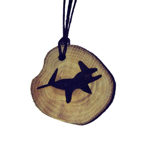 The Iguana Nazca Lines Inspired Handmade Necklace Wooden Eco Friendly Wood Rustic Jewellery Gift Charms #NazcaLines