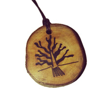 The Tree Nazca Lines Inspired Handmade Necklace Wooden Eco Friendly Wood Rustic Jewellery Gift Charms #NazcaLines