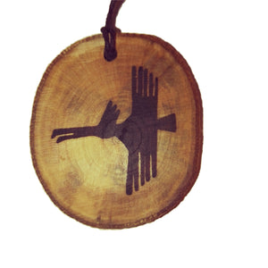 The Bird Nazca Lines Inspired Handmade Necklace Wooden Eco Friendly Wood Rustic Jewellery Gift Charms #NazcaLines