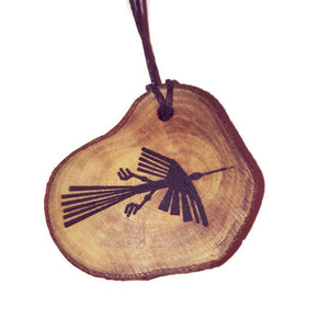 The Whale Nazca Lines Inspired Handmade Necklace Wooden Eco Friendly Wood Rustic Jewellery Gift Charms  #NazcaLines