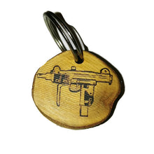 Gamers Loot Crate 3D Printed loot Box and Uzi Submachine Gun Necklace Novelty Gift #LootCrate
