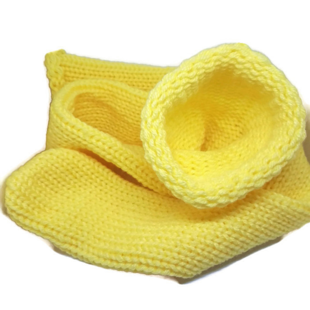 Yellow Knitted Handmade Wool Unisex bed sofa Socks Casual Novelty Custom Personalised Socks #Socks #Retro