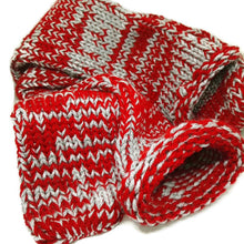 Red Knitted Handmade Socks #Socks
