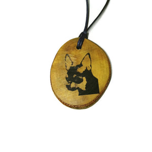 Chihuahua Chiwawa Dog choker Pendant Handmade Wooden Charm Natural Personalised Necklace Earrings Keyring Charms #Handmade