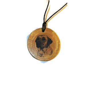 Labrador Retriever Handmade Wooden Charm Natural Personalised Necklace Earrings Keyring Charms #Personalised