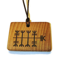 Business Deal Binding Rune Amulet Runic Talisman Necklace
