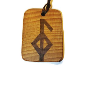 Good Health Binding Rune Amulet Runic Talisman Necklace
