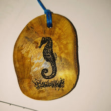 Seahorse Wooden Engraved Scented Oil Diffuser Home Car Air Freshener #seahorse