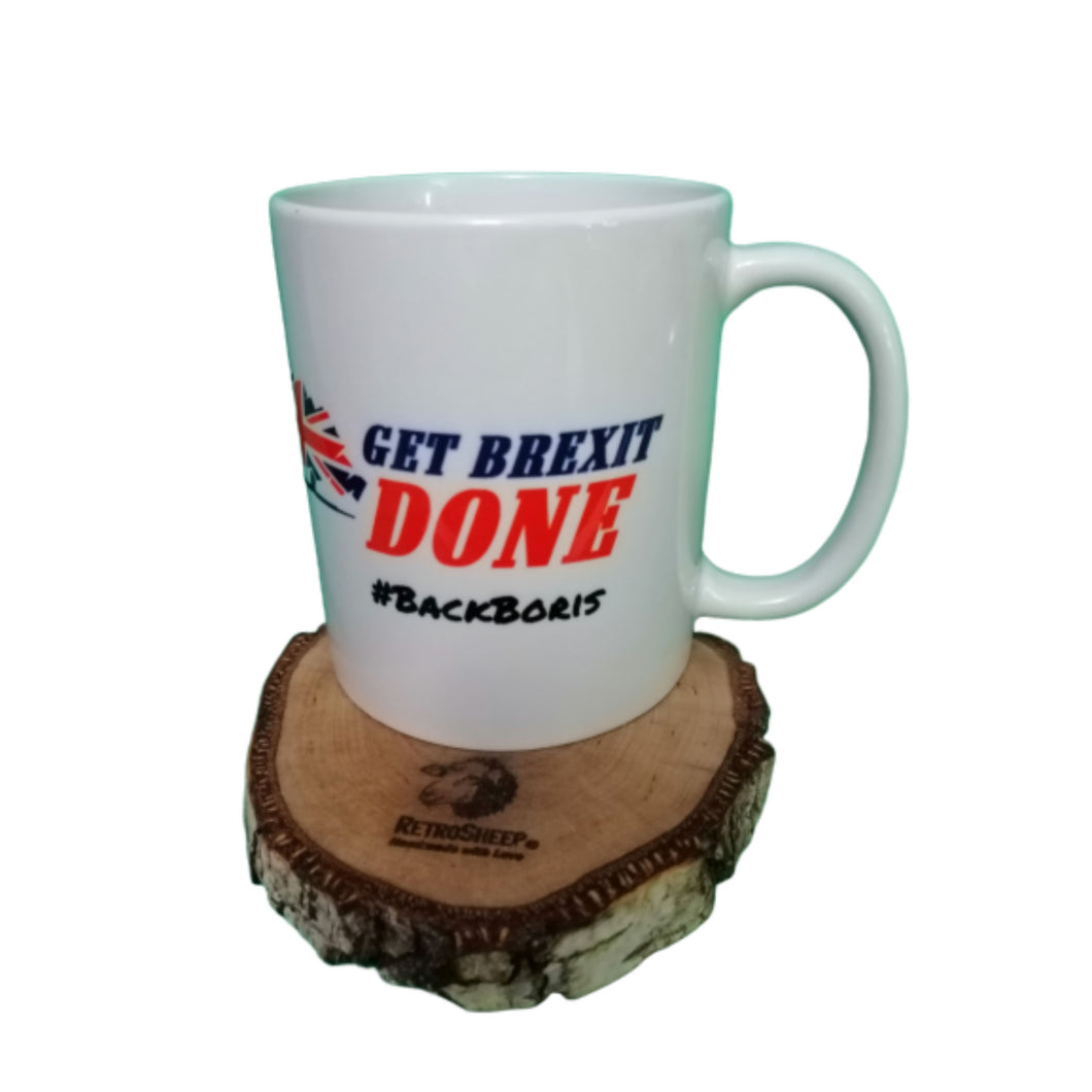 GET BREXIT DONE Back Boris  Coffee Mug #Brexit #GetBrexitDone #BackBoris