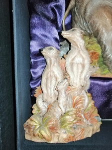 Meerkats From the Earth Figurine Ann Richmond  #FromtheEarth