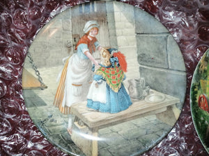 Wind in the Willows Escape from Jail Collectable Plate by Wedgewood